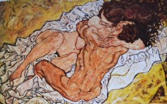 egon-schiele--the-embrace